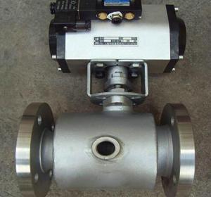 BQ641F氣動保溫球閥