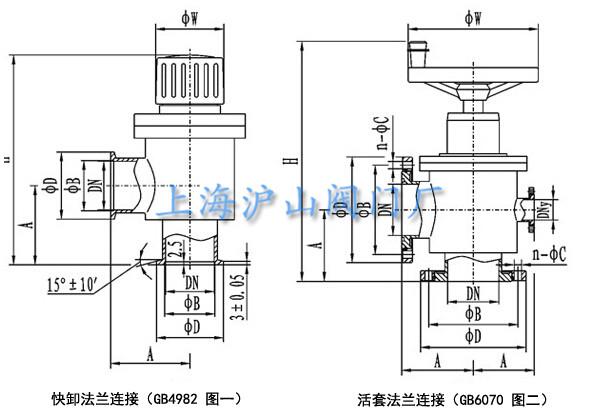 gd型高真空挡板阀结构图