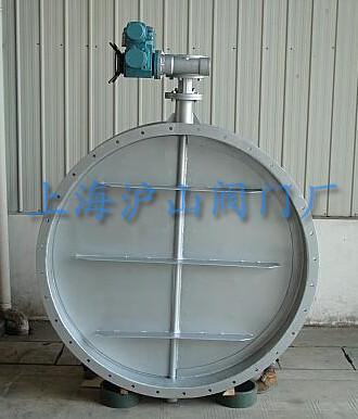 供应d941w电动通风蝶阀-上海沪山阀门