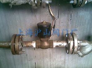 ZQDF蒸汽电磁阀安装实例图
