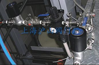 ZQDF蒸汽电磁阀安装实例