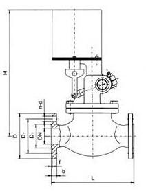 高温电磁阀结构