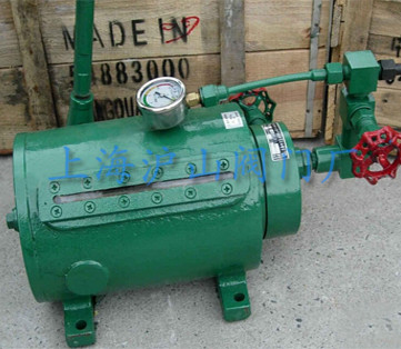 气储配站的大型贮罐或槽车上供紧急切断阀在工作状态