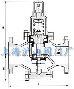 Y42X黄铜空气减压阀结构图