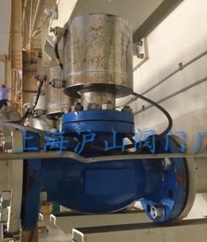 JDQ41Y气动程控切断阀安装实例1