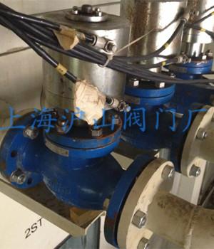 JDQ41Y气动程控切断阀安装实例2